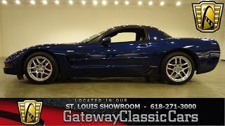 2004 Chevrolet Corvette Z06 - Gateway Classic Cars St. Louis - #6364