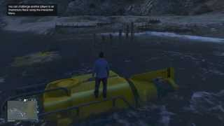 Gta 5 Online - How To Find The Submarine! (w/ Location)