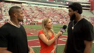 Catching up with former Hogs Trey Flowers and Deatrich Wise