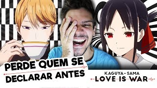 Análise da premissa do anime Kaguya Sama Love is War AJUDE O ALL BL...