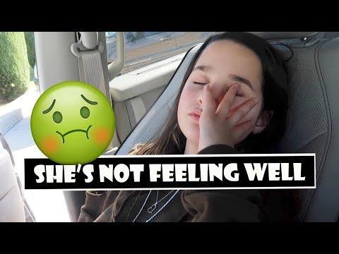 She's Not Feeling Well 🤢 (WK 372.7)   Bratayley