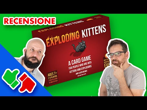 Exploding Kittens - Recensione ITA