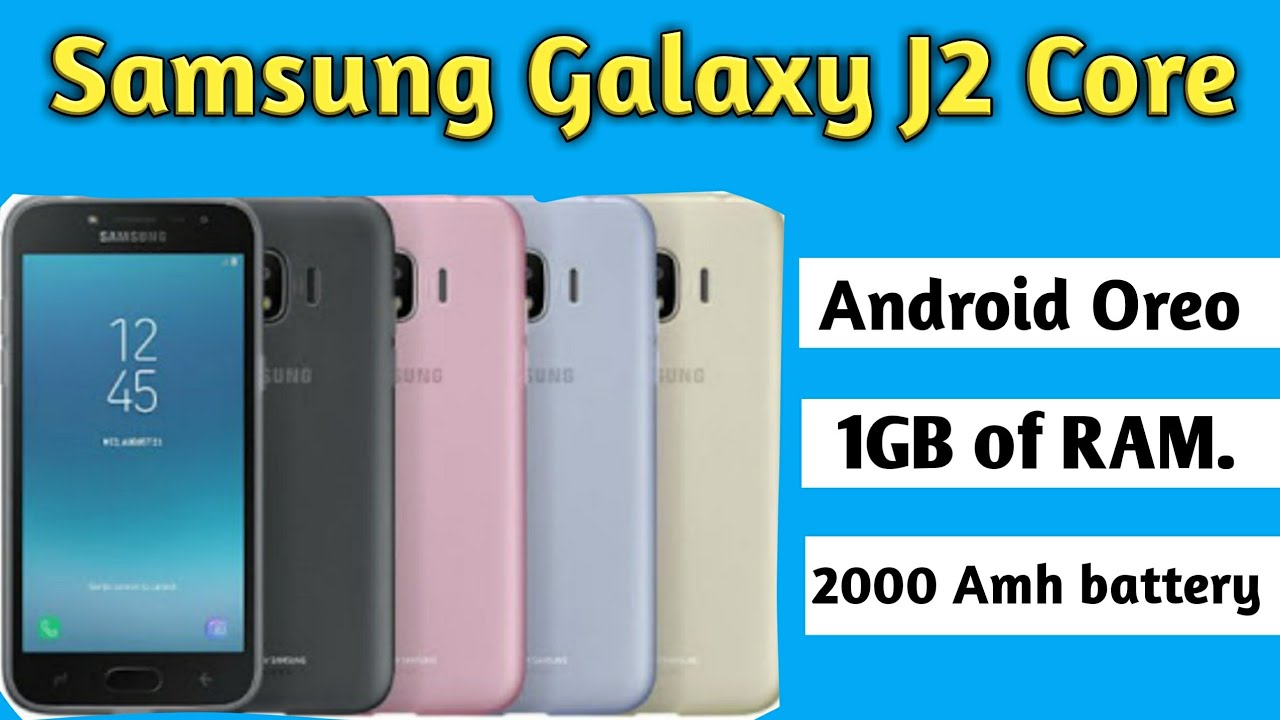 Samsung Galaxy J2 Core Android Oreo (Go edition) smartphone launched   Price, specifications, 11d02e6bcdf8