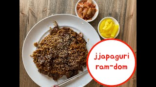 How to make: Jjapaguri Noodles! Ram-Don from PARASITE!!