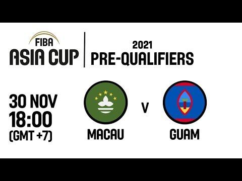 Macau v Guam - Full Game - FIBA Asia Cup 2021 Pre-Qualifiers  2019