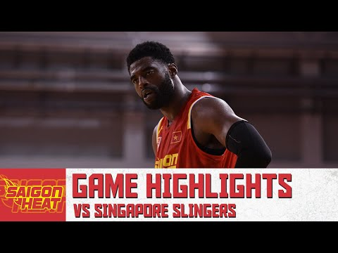Malcolm White with 15 Points & 7 rebound  vs. Singapore Slingers