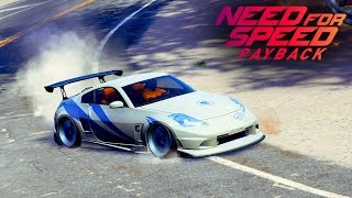 FIZ DRIFT DESCENDO UMA MONTANHA ENORME COM 350Z - NEED FOR SPEED PAYBACK