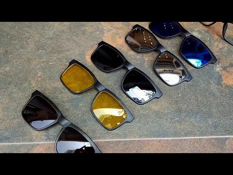 Clip on Wayfarer design  5 in 1 Sunglasses nepal