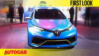 Renault Zoe e-Sport concept | First Look | Auto Expo 2018 | Autocar India
