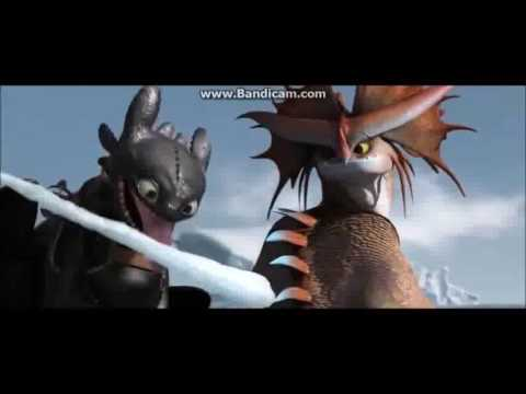 How To Train Your Dragon Toothless Cute Moments Part1
