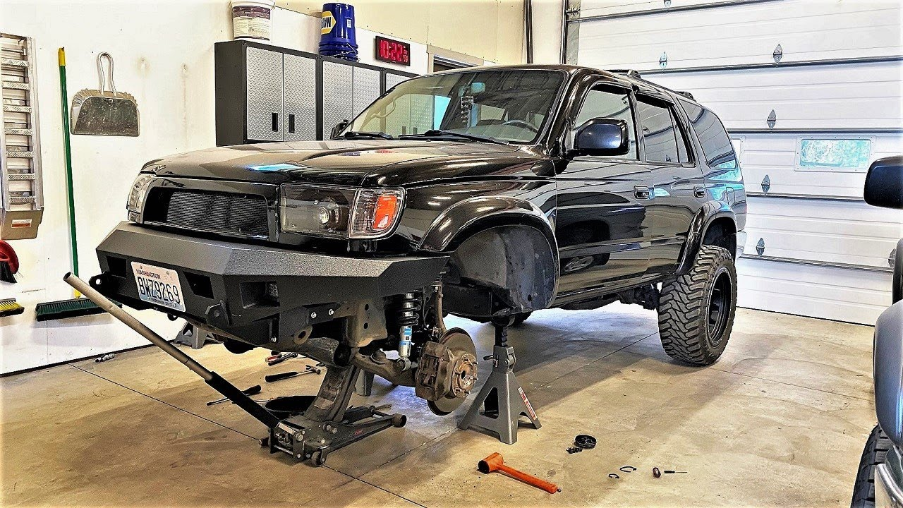 4Runner Gets CV Boots And LBJ's!