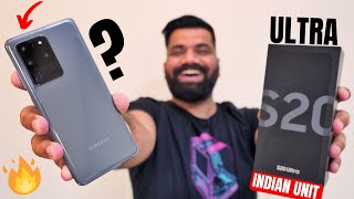 Samsung Galaxy S20 Ultra Unboxing & First Look - Packs Everything!!! Indian Variant