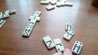 Видеоурок#1-учимся играть в домино с Димоном