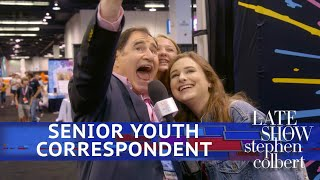 Richard Kind Meets YouTubers At VidCon
