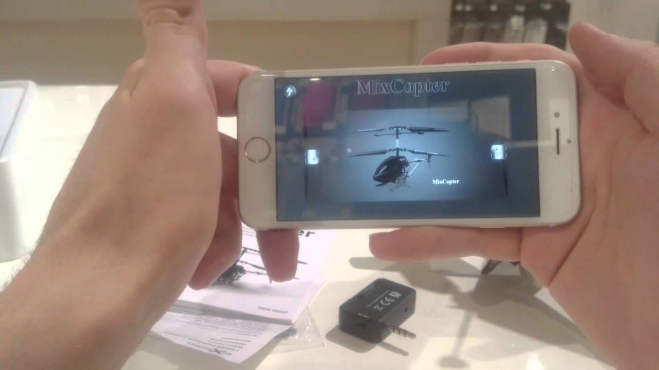 Радиоуправляемый вертолет с видеокамерой. - YouTube