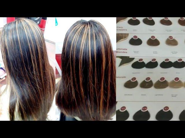 Hair Colour Highlights Streaks Hair Colour Highlights Step By Step 100 Safe Youtube