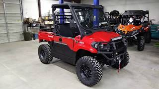 2019 Kawasaki Mule Pro MX customized by Hester's, street legal, lifted, and much more!