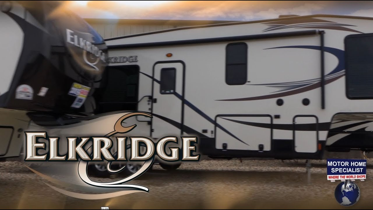 Creative ELKRIDGE 38RSRT Luxury Fifth Wheel Review At MHSRVcom 2015  YouTube