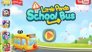 Little panda school bus game @Micah&#39s Tablet Game Reviews