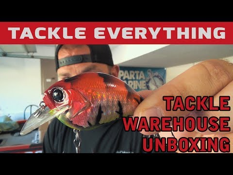 Tackle Warehouse Unboxing + Custom Painted Lures