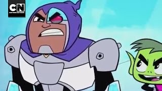 Half-Demon Cyborg | Teen Titans Go! | Cartoon Network