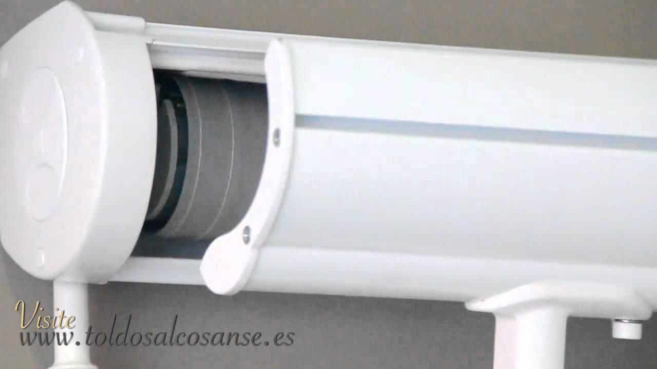 Toldos verticales para exterior. Toldos a medida Madrid - YouTube
