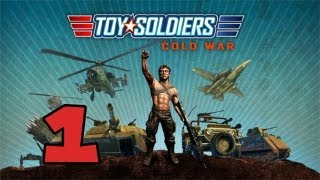 TOY SOLDIERS: COLD WAR - GAMEPLAY WALKTHROUGH / PLAYTHROUGH PART 1 (HD XBOX 360 GAMEPLAY)
