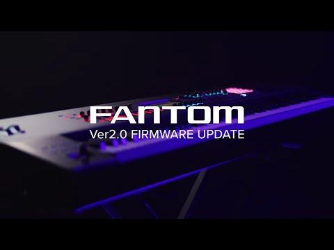 Roland FANTOM Synthesizer Version 2.0 Update for FANTOM 6, FANTOM 7 & FANTOM 8
