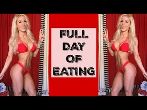 What I eat in a DAY | Headphones Giveaway | Back & Bicep Workout