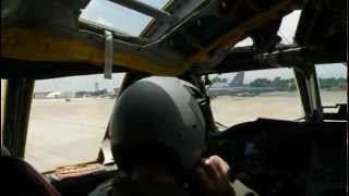 B-52 Aerial Training Mission - Live Weapons Drop And Aerial Refueling