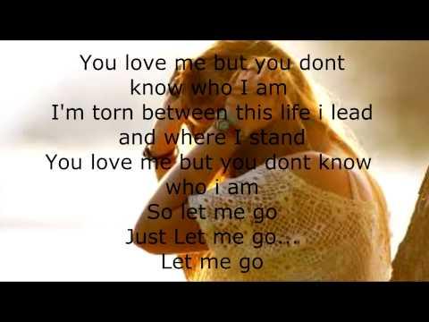 3 doors down lyric let go: