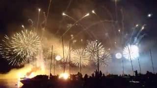 Feux d'artifice de Genève, le feu au lac ! Final