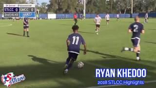 Ryan Khedoo 2018 STLCC Soccer Highlights