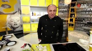 видео Зеленый салат с сыром