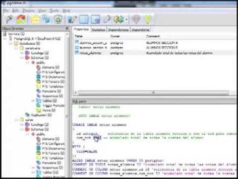 07.- Curso de PostgreSQL. Ventajas y desventajas uso de OIDs