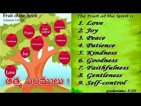 ఆత్మ ఫలములు || The Holy Spirit Makes Us Fruitful || Zac Poonen Telugu  christian messages