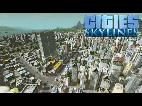 [22] Cities: Skylines | Waterfront Commercial [Let's Play]