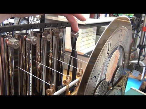 Grandfather Clock Test Stand and Hammer Refurbish