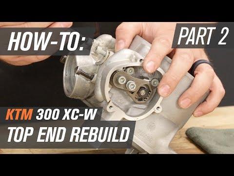 KTM 300 XC-W Top End Rebuild | Part 2: Power Valve Rebuild