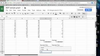How to do a t test in Google Sheets