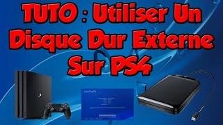 TUTO: Utiliser Un Disque Dur Externe Sur PS4
