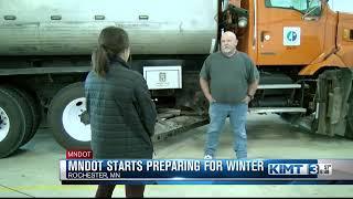MNDOT getting prepared for winter