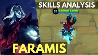 FARAMIS : NEW MAGE SUPPORT HERO SKILL AND ABILITY ANALYSIS | Mobile Legends