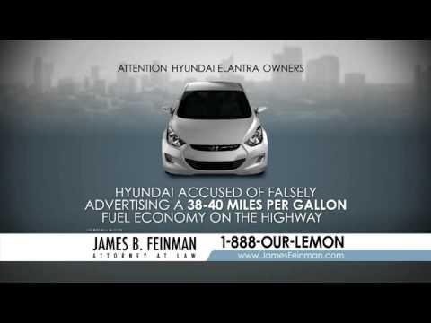 Hyundai Elantra - Gas Mileage Class Action Lawsuit