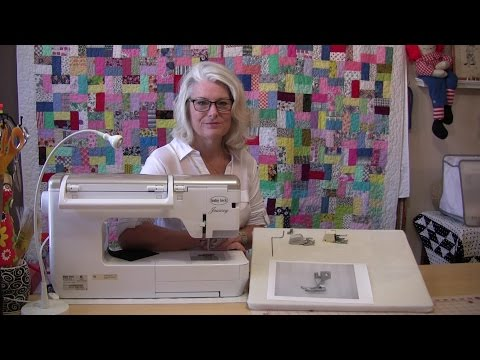 How to use a walking foot on your sewing machine