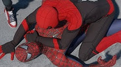 SPIDER-MAN BATTLE   Fight Scene (FAR FROM HOME vs. SPIDER-MAN vs. SPIDER-VERSE & MORE! - (PART II)
