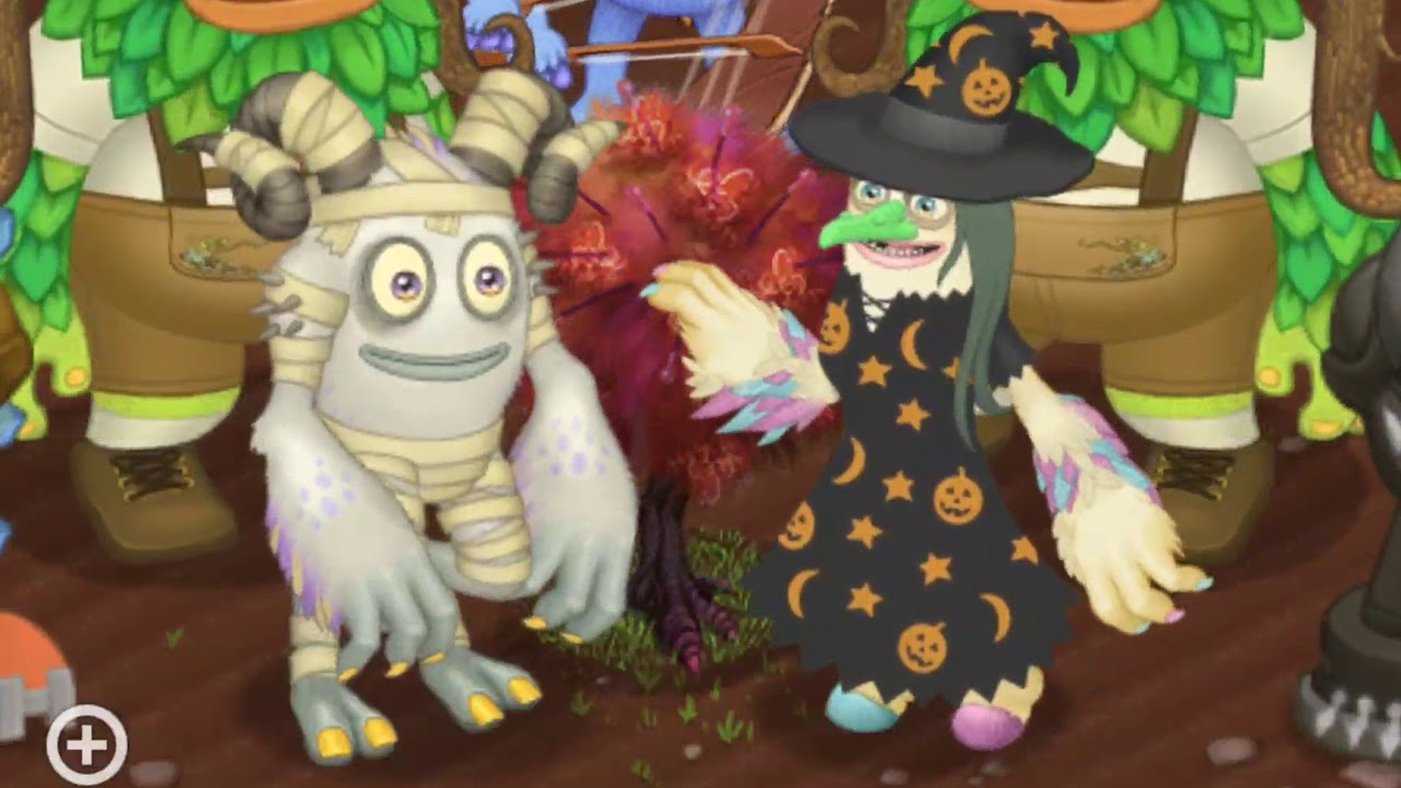 Mummy Tawkerr And Witch Parlsona Halloween Costumes On Plant Island Werdos Youtube