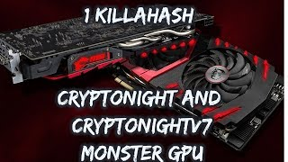 1000 + hashes per second | Best Mining GPU for Cryptonight and Cryptonightv7 | MSI rx 580 Gaming X |