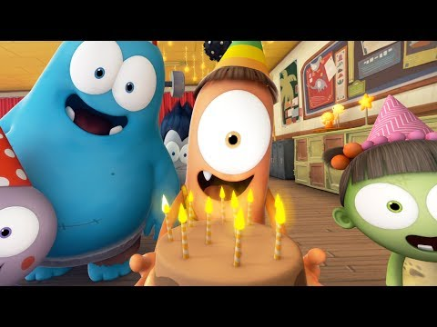 Funny Animated Cartoon   Spookiz Get Ready For The Weekend Song 스푸키즈   Cartoon for Children