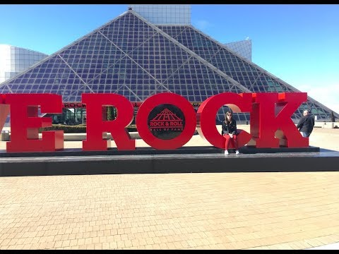 Exploring The Rock and Roll Hall of Fame in Cleveland Ohio 2018